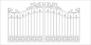 Decorative Gate Design